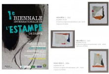 1e BIENNALE INTERNATIONALE DE L'ESTAMPE DE DREUX